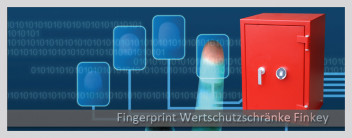 Tresore mit Fingerprint-Option