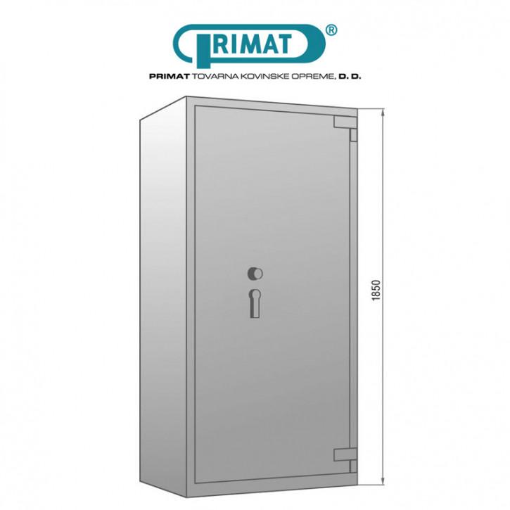 PRIMAT STARPRIM 1535 Gamma Wertschutzschrank Tresor Klasse I (1) nach EN 1143-1