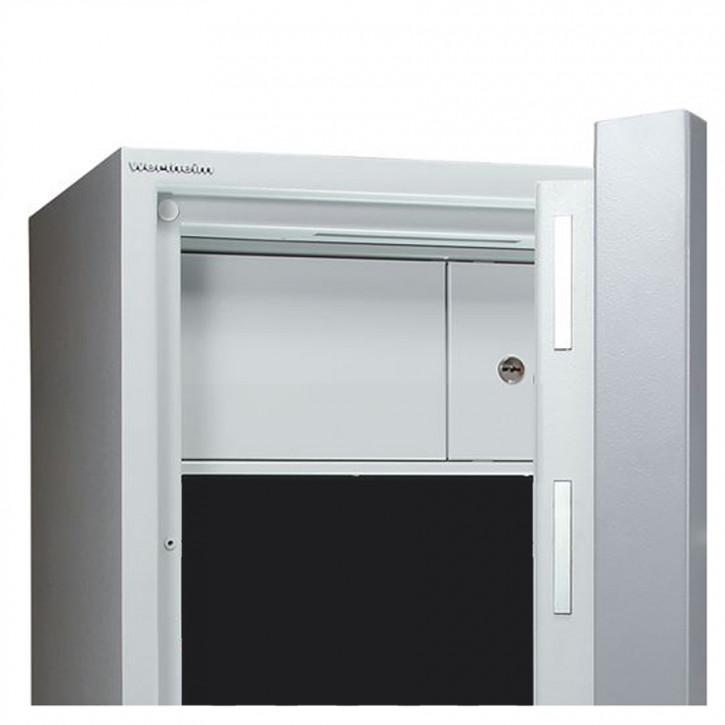 Innentresor versperrbar, 240 mm hoch, 2-flügelig für 0850 - 1901