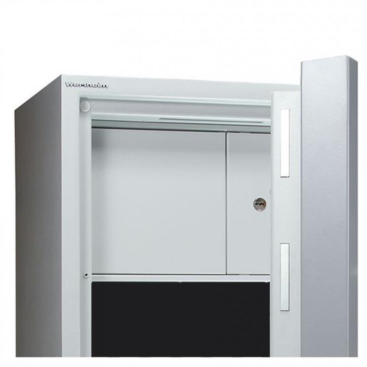 Innentresor versperrbar, 360 mm hoch, 2-flügelig für 0850 - 1901