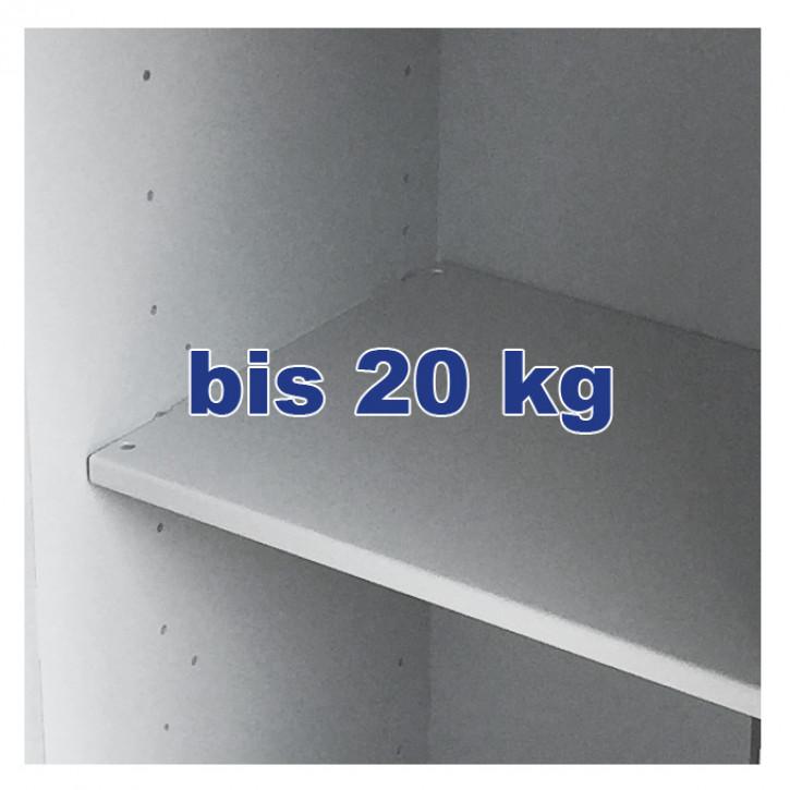Fachboden (verstellbar, belastbar bis 20 kg) für 0849