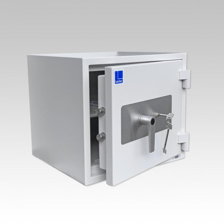 Leicher G1-50 Wertschutzschrank ECB•S 1 I EN 1143-1 + Feuerschutz 440x500x432