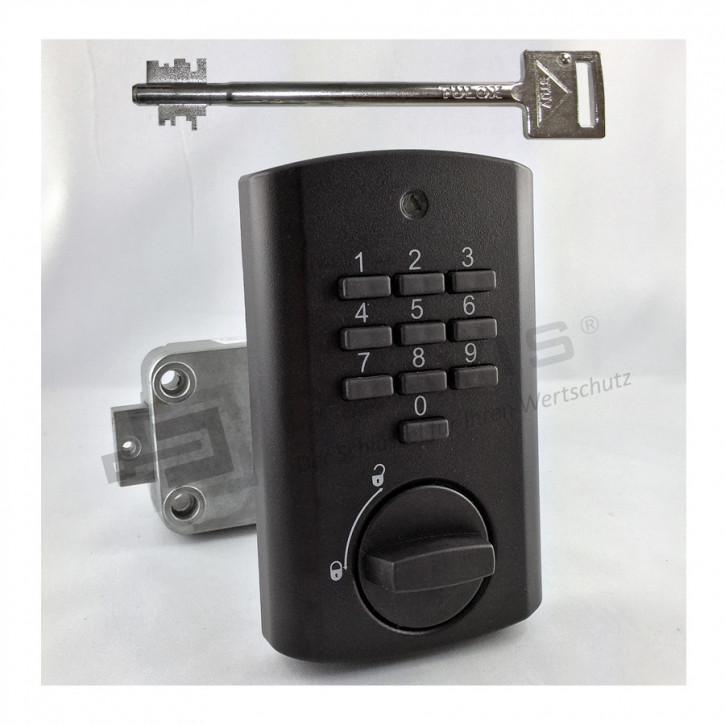 STUV TULOX 100 Elektronik, Notschlüssel