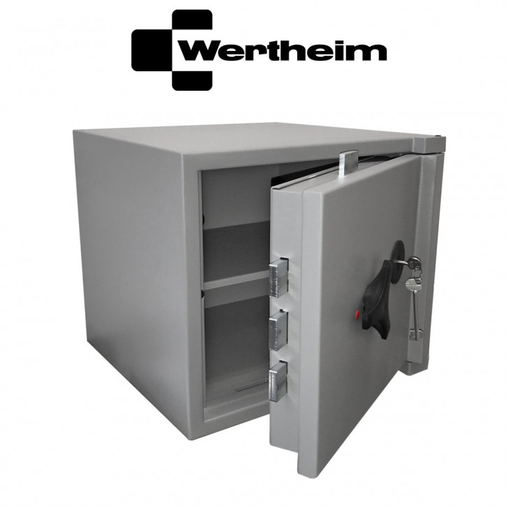 Wertheim Wertschutzschrank AG10 VdS + ECB•S Widerstandsgrad 2 (II) nach EN 1143-1  optional mögl. als Schlüsseltresor