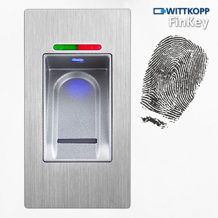 Carl Wittkopp FinKey SL Fingerprint biometrisches Tresorschloss Fingerabdruck, Cawi
